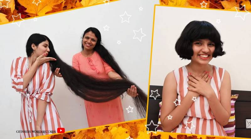 Girl with longest hairs in world receives first ever haircut