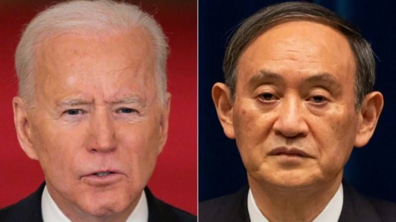 Japan PM is Biden's first guest with push on 5G, climate, China