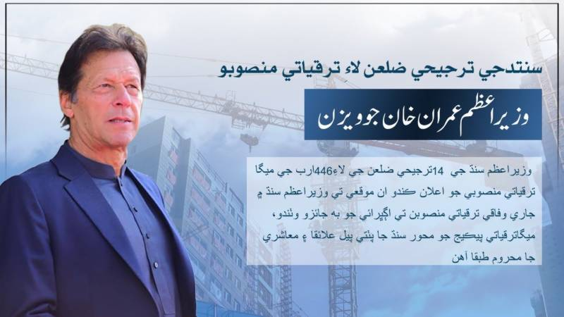 PM to announce Rs446b historical package for Sindh today