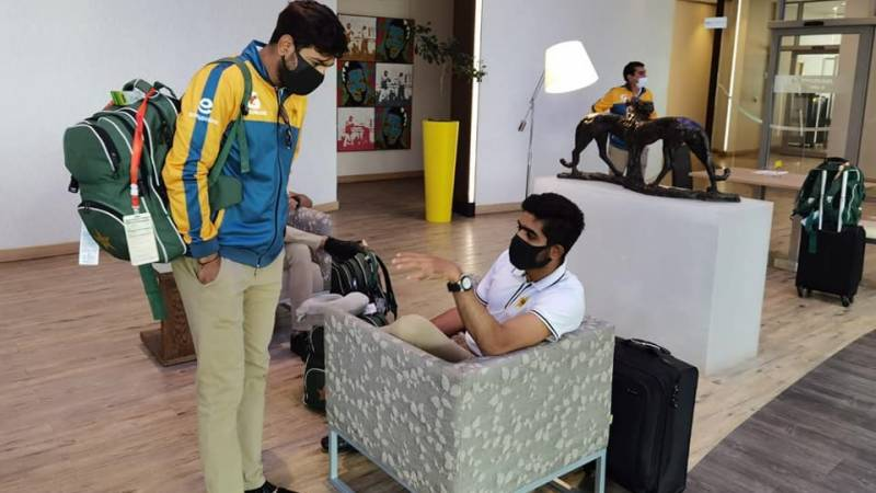 Pakistan team off to Harare for 3-match T20s & 2-match Test series