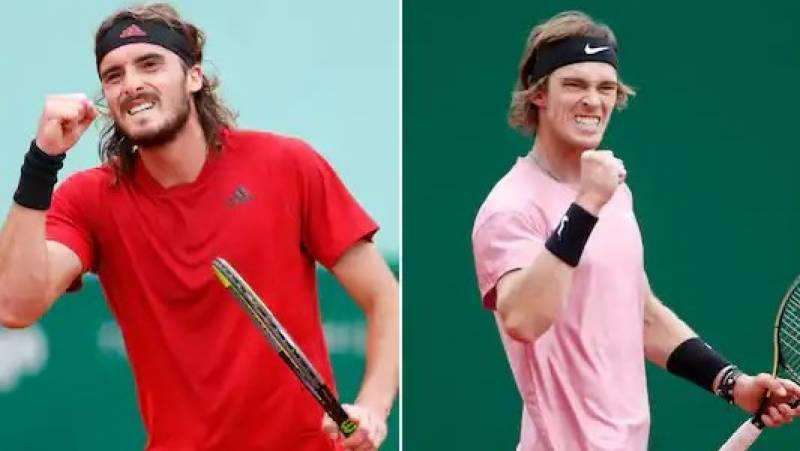 Tsitsipas, Rublev in Monte Carlo final with maiden Masters title at stake