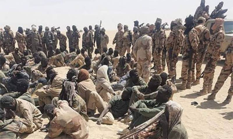 Over 300 rebels, five soldiers killed in Chad: army