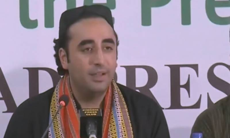 PPP Chair Person Bilawal Bhutto