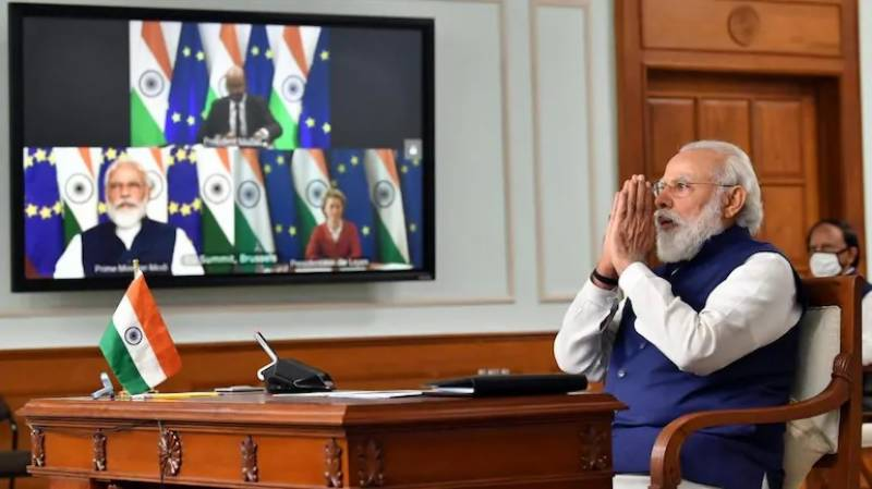 India says EU summit will be virtual due to Covid surge