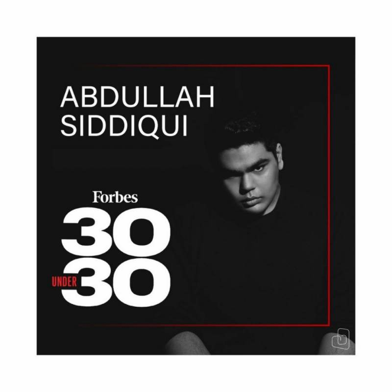 Music sensation Abdullah Siddiqui secures place in Forbes 30 Under 30 Asia 2021