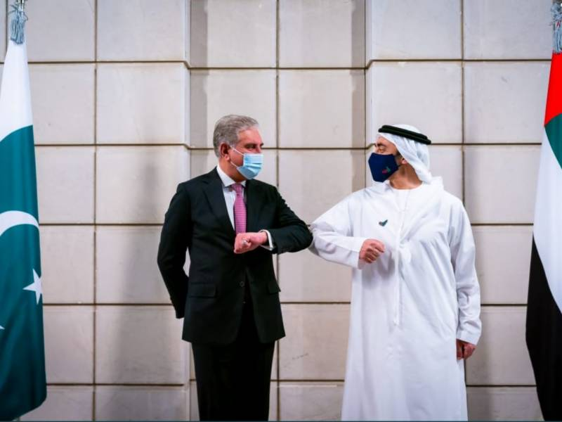 Foreign Ministers of UAE and Pakistan