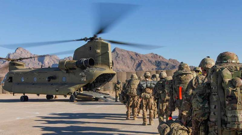 US wants to reposition forces 'in neighbours of Afghanistan'