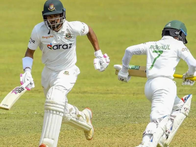 Record stand for Shanto and Mominal puts Bangladesh in charge of first Test