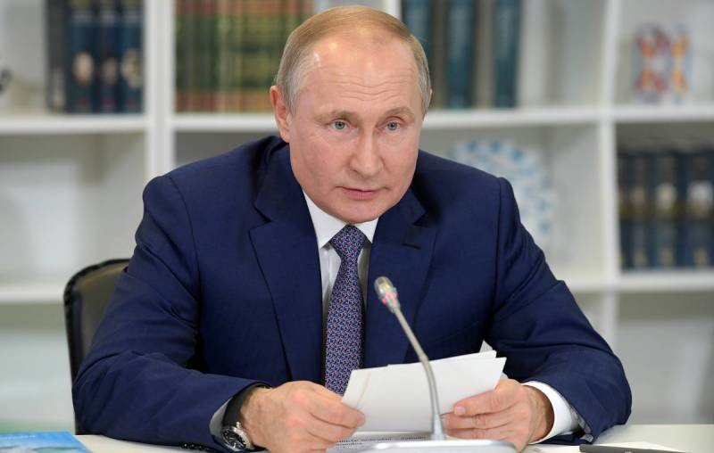 Putin says Russia fulfilling obligations to fight climate change