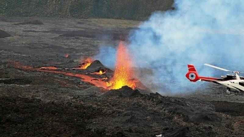Two hikers die on erupting volcano on France's Reunion island