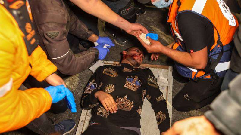 Over 120 wounded in east Jerusalem clashes