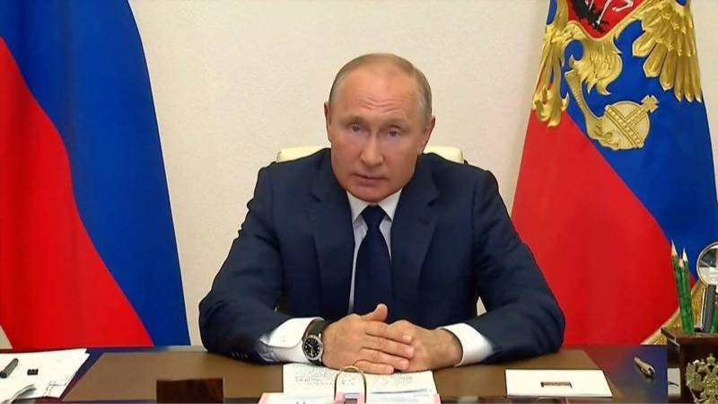 Putin announces non-working period in May to prevent virus surge