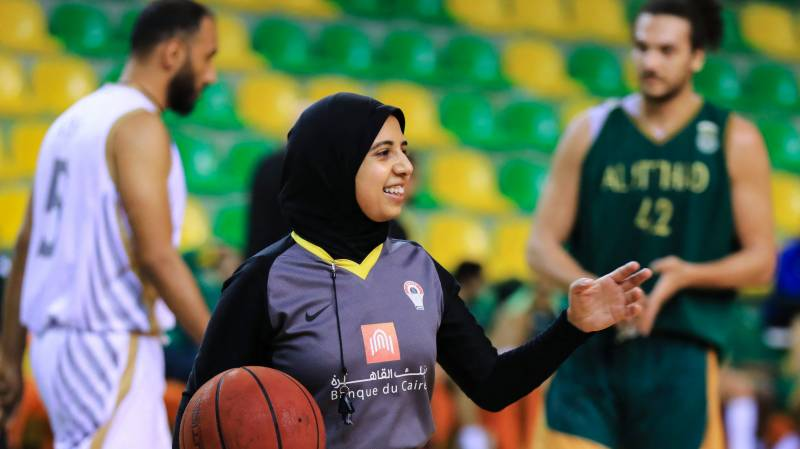 First Arab woman basketball referee to stand tall at Olympics