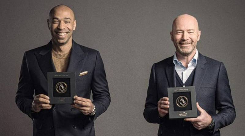 Henry and Shearer inducted into Premier League Hall of Fame