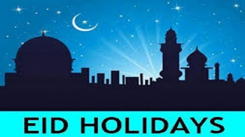 Summary moved for seven official holidays on Eid