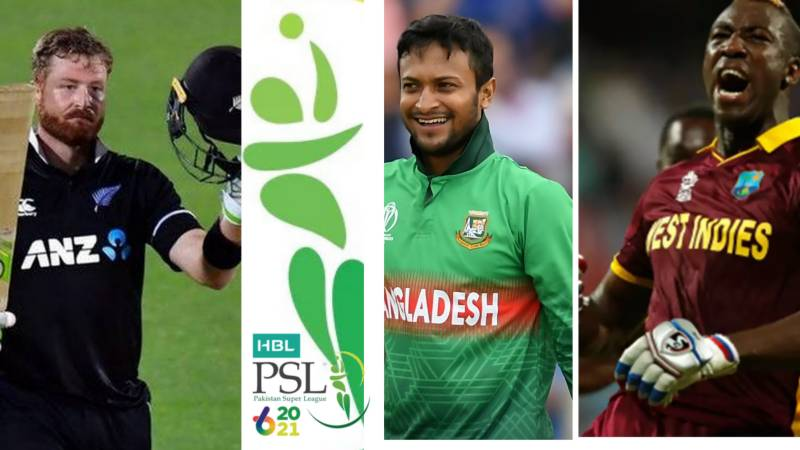 Guptill, Russell and Shakib to feature in remaining PSL 6 matches in Karachi