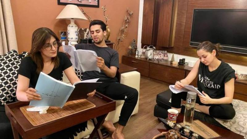 Momin Saqib and Hania Aamir about to serve major couple goals in upcoming project