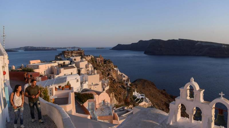 Tourist-starved Greek islands strive for 'Covid-free' image