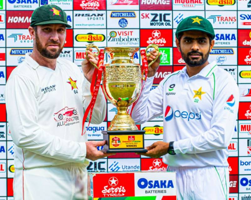 Hasan Ali's double leaves Zimbabwe struggling in first Test