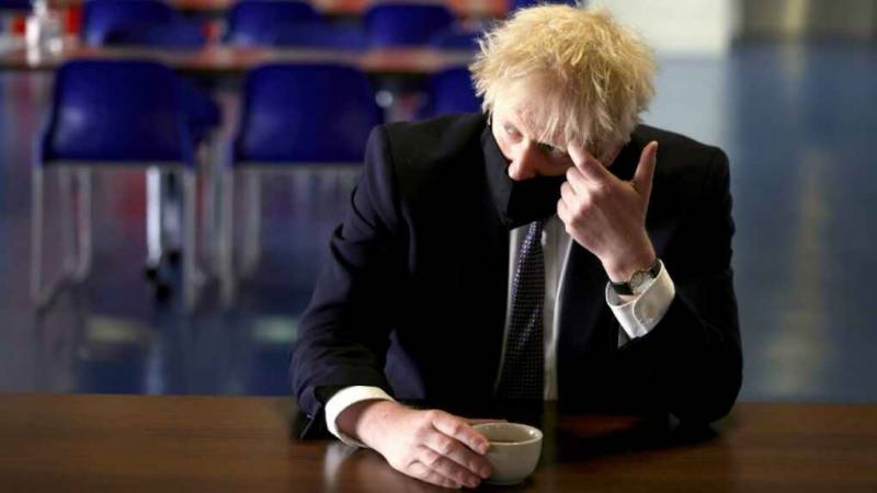 Phone number of Britain's Johnson online for 15 years: reports