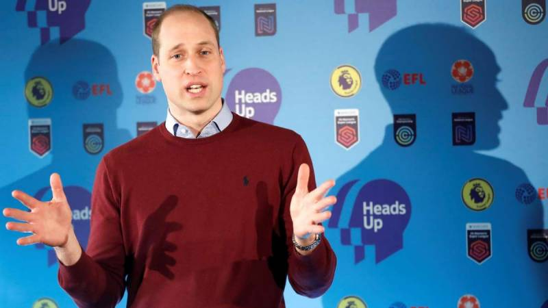 Prince William joins social media sports boycott to tackle abuse