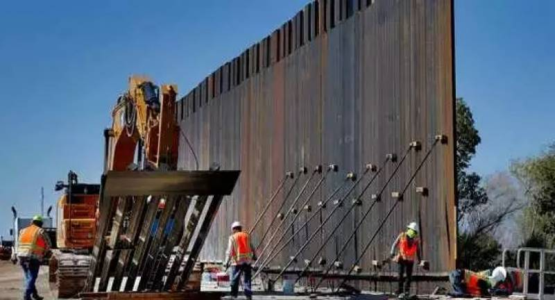 Pentagon cancels border wall construction projects