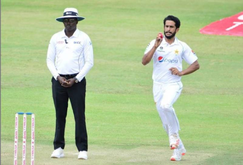Hasan leads Pakistan's rout of Zimbabwe in first Test