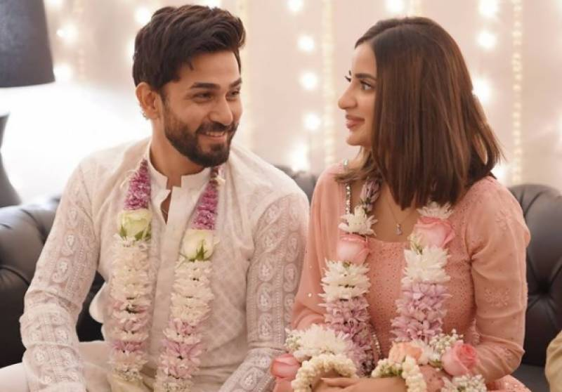 Saboor Aly and Ali Ansari get engaged