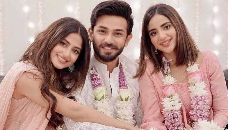 Ecstatic Sajal Aly welcomes Ali Ansari into family with enthusiasm