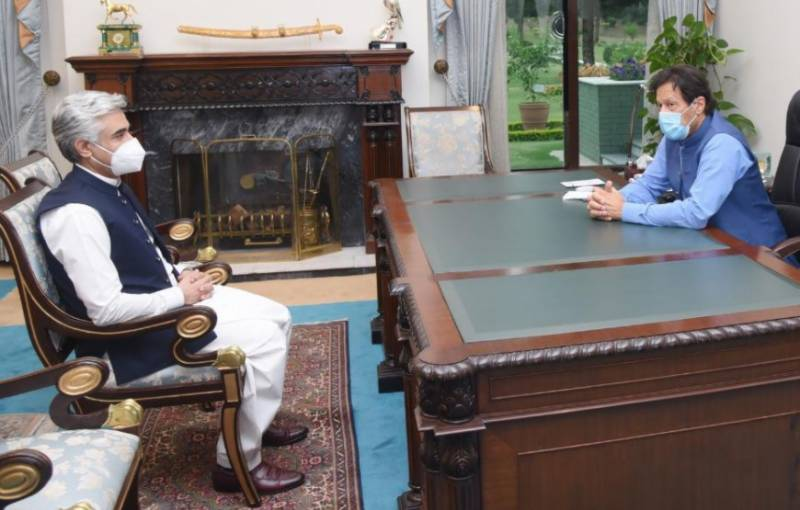 PM satisfied with Aslam Iqbal's performance