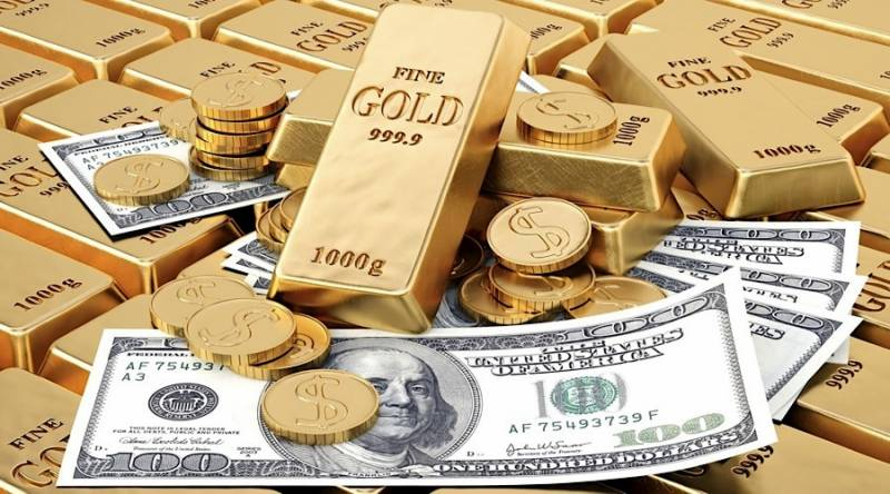 Pakistan Rupee reaches 22-month high against US Dollar; gold price increases