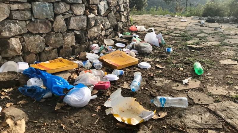 EPA springs into action after British envoy shows solid waste at Margala Hills