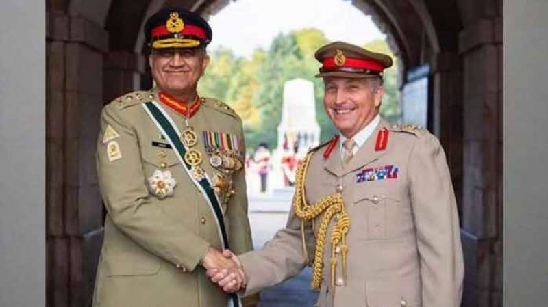 British top commander arrives in Pakistan, holds talks with defence officials