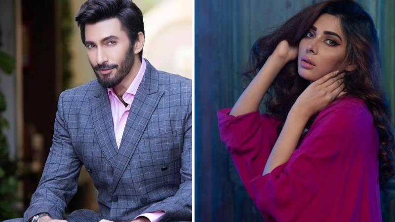 Eshal Fayyaz asks Aijaz Aslam to go on date with her