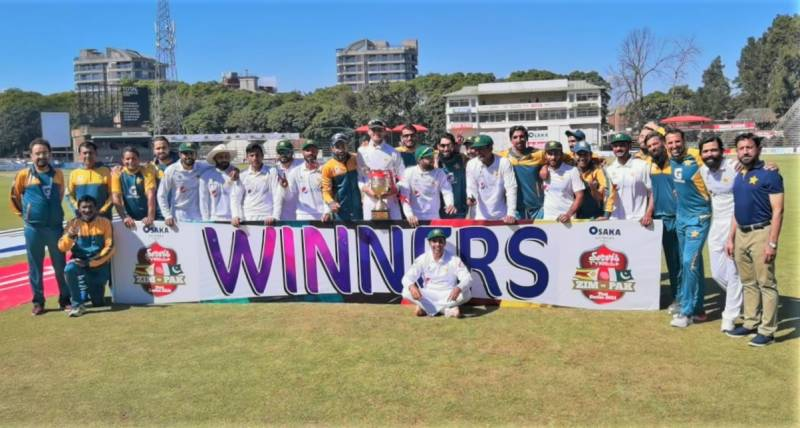 Sixth straight series win for Pakistan, Babar first captain to win opening four Tests