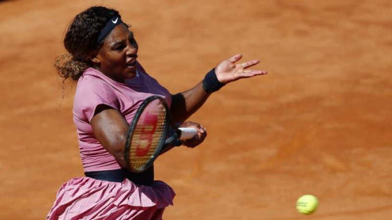 Williams, playing her 1000th career match, crashes out of Italian Open