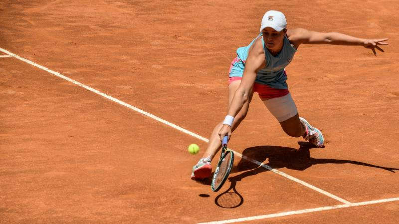 Barty wary of 'extremely dangerous' Gauff in Italian Open quarters