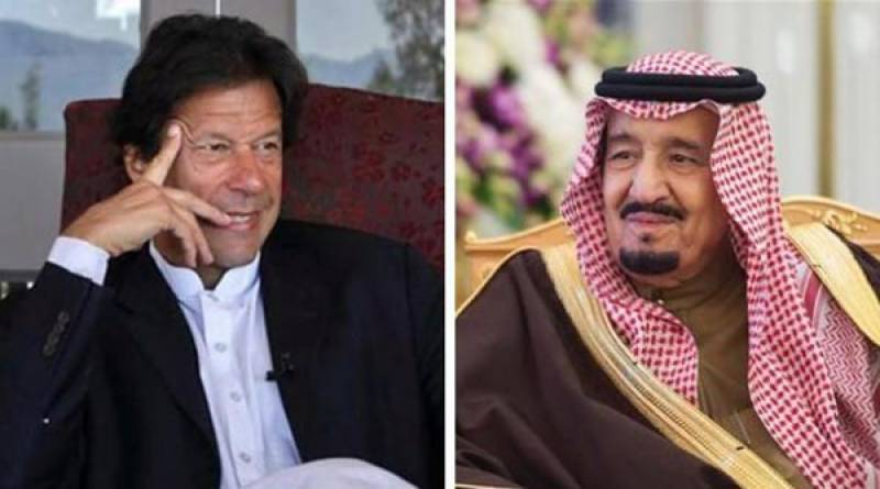 PM discusses Palestine issue with Saudi King on phone; reiterates commitment to KSA sovereignty