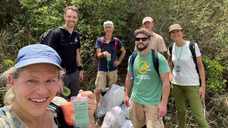Canadian diplomats launch clean-up Margala Hills campaign