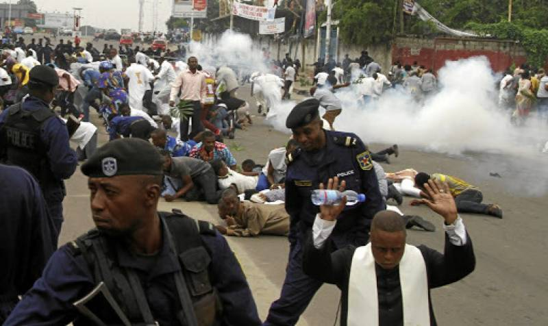 30 sentenced to death over anti-police clashes in DR Congo