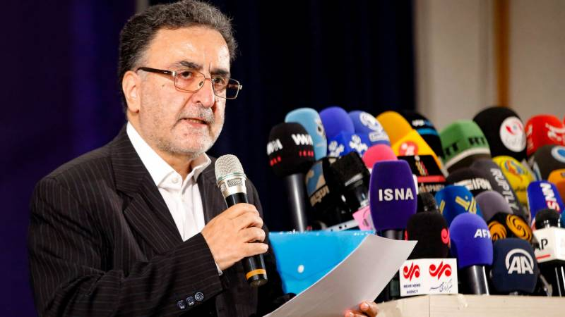 Iran reformist figure presents candidacy for presidential race