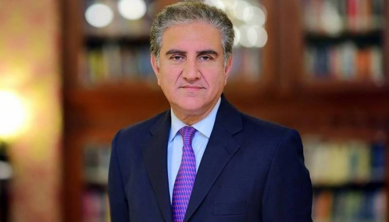 Qureshi discusses Palestine situation with Egypt, Sudan counterparts