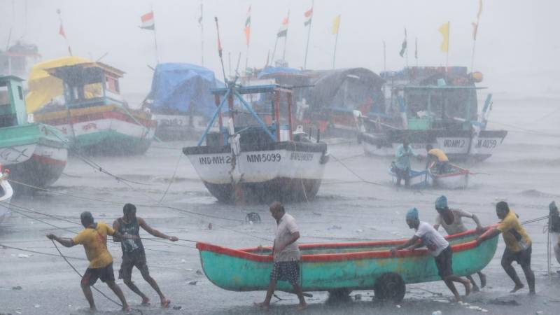 Monster cyclone makes landfall in Covid-stricken India