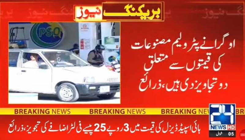 Ogra moves summary to increase petrol prices by Rs1.90