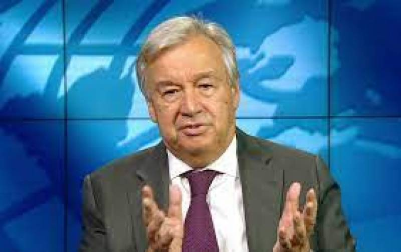 UN Secretary-General calls for end to violence in Palestine