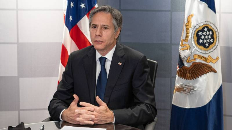 Blinken insists US not 'in the way of diplomacy' at UN