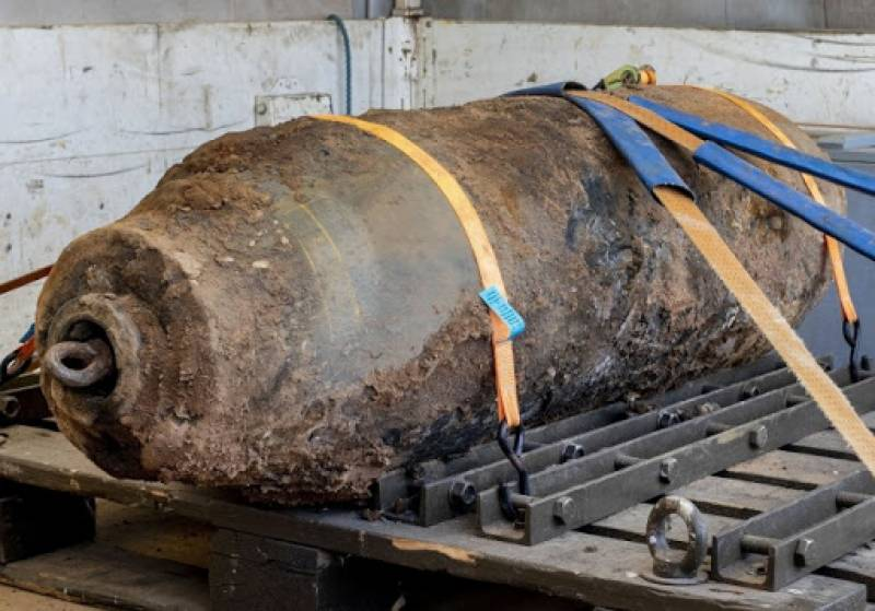 25,000 evacuated after WWI bomb found in German city