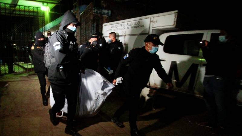 Six beheaded in Guatemala prison clashes