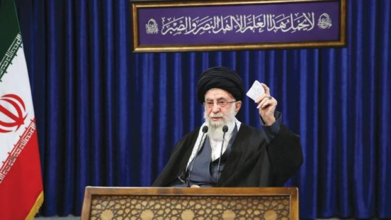 Iran's Khamenei says Israel 'forced to accept defeat'