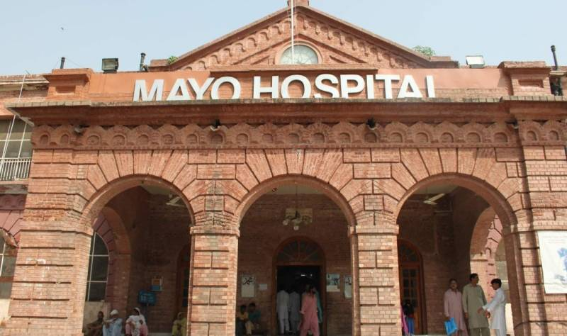 Security guard in Mayo Hospital operates female patient